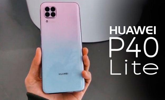Huawei revela su modelo más económico de su nueva serie el Huawei P40 Lite